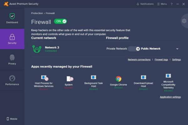 Avast Premium Security3 Antivirusni programi