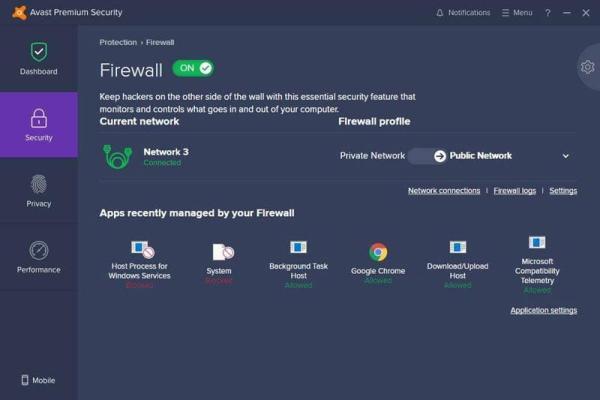 Avast Premium Security3 Antivirusni programi