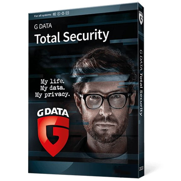 G data Total security box 1 Antivirusni programi