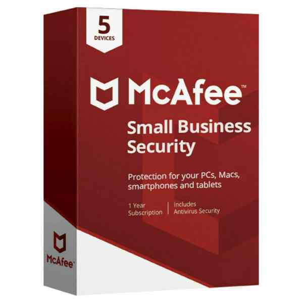 McAfee small office security Antivirusni programi