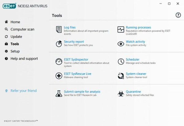 eset nod32 antivirus interfac2 Antivirusni programi