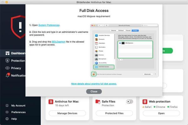 Bitdefender Antivirus za MAC