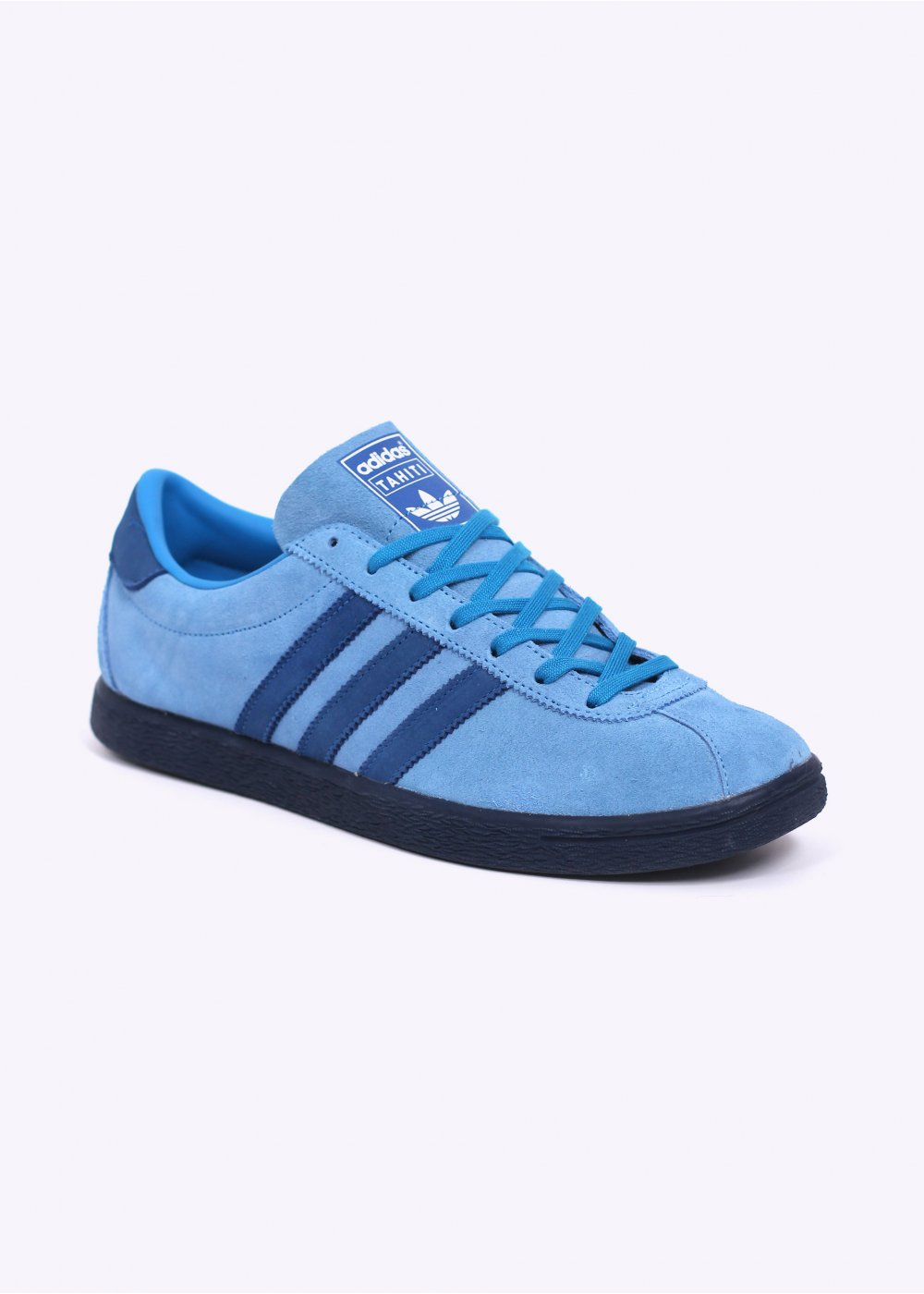 Adidas Originals Tahiti Trainers Light Blue Blue