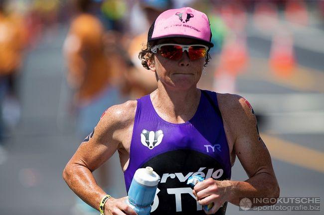 Mary Beth Ellis hatte Probleme beim Marathon