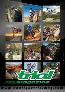 Calendrier Trial magazine 2013