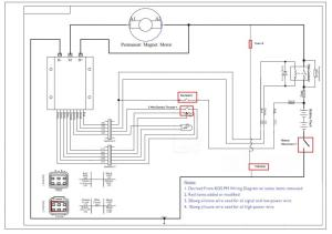 Oset 160 24V  Kelly Controller Installation Wiring