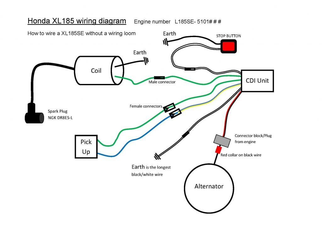 Dc 6 Wire Cdi Box Diagram - Facbooik.com