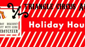 Triangle Circus Arts HOLIDAYCHEER