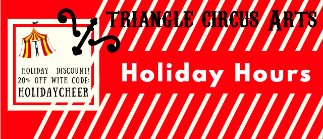Triangle Circus Arts HOLIDAYCHEER