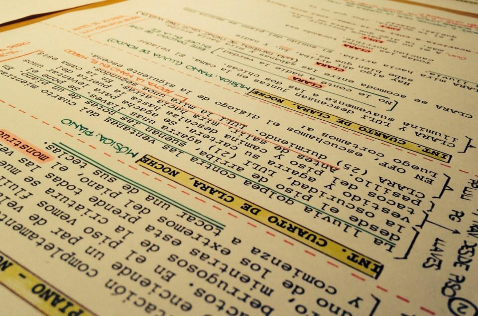Introducción a la planificación: guión técnico