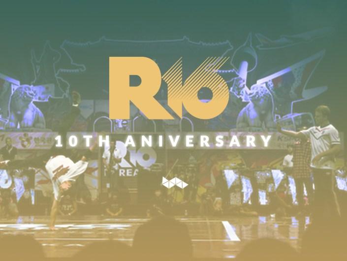 R16 - 10 ANNIVERSARY 2016