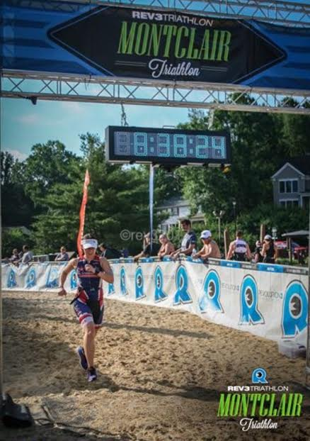 No sprinting down the finish chute when it's composed of deep sand!