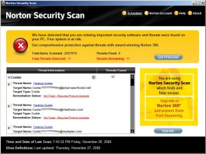 Norton Security Scam