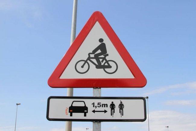 Seguridad al ciclista