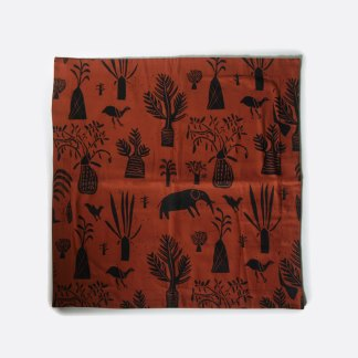 Orange Art-i-san cushion cover sold in New Zealand