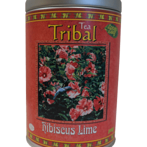 Hibiscus Lime – 300gm Airtight Refillable Decorative Canister