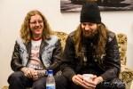 """Grand Magus im Interview: Ludwig (links) und Fox sprechen über die schwedische Musikkultur und die Aufnahmen zu """"The Hunt""""."""