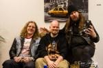 Spaß beim Interview und der Foto-Session: Ludwig,Tribe-Redakteur Florian Stangl und Fox (v.li.na.re.)