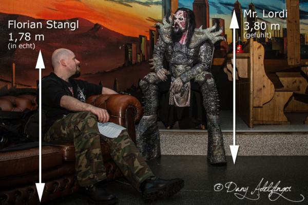 Lordi Interview - Musichall Geiselwind - 04-04-2013-03