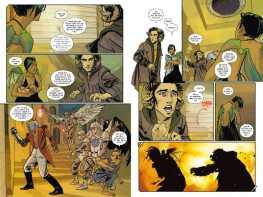 Saga 01 - Vorschau Seiten 8 u 9 - Tribe Online Magazin