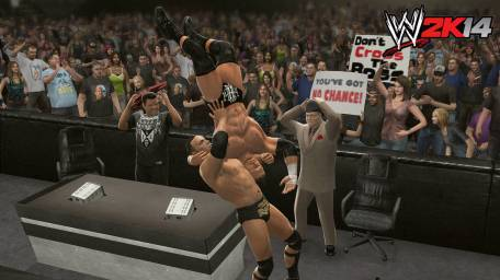 WWE2K14_ReviewScreens_Rock_HHH - Tribe Online Magazin