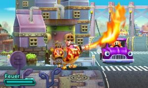 Kirby Planet Robobot - Flammenwerfer - Tribe Online Magazin