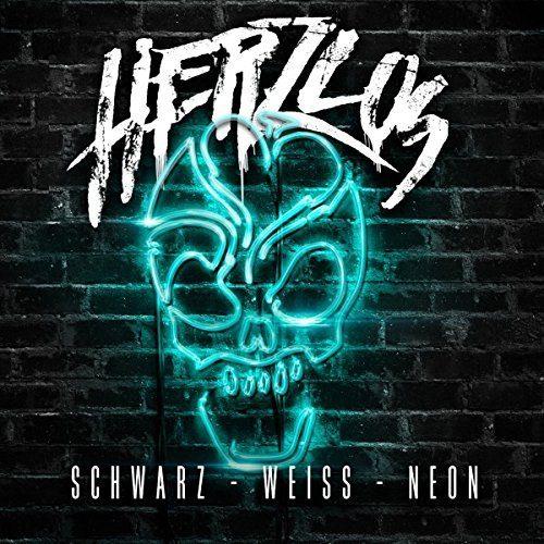 Herzlos – Schwarz Weiß Neon