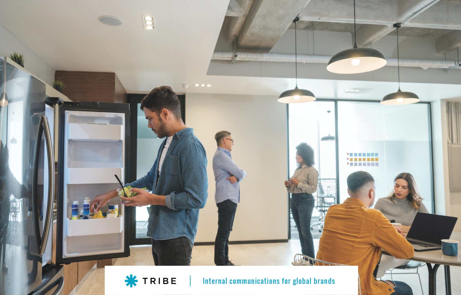 Creating a break room that encourages collaboration