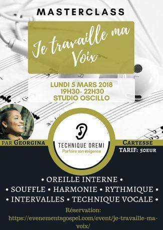 Masterclass je travaille ma voix @ Studio Oscillo  | Pantin | Île-de-France | France