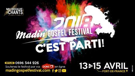 Madin' Gospel Festival 2018 @ Parc Floral Aimé Césaire | Fort-de-France | Fort-de-France | Martinique
