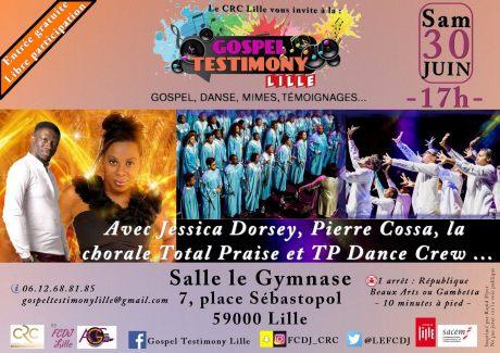 Gospel Testimony Lille @ Salle le Gymnase | Lille | Hauts-de-France | France