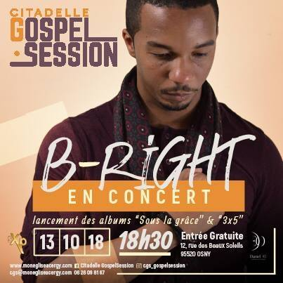 Citadelle Gospel Session avec B-Right @ Citadelle Compassion | Osny | Île-de-France | France