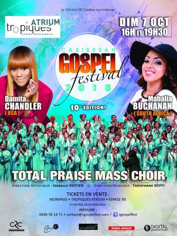 Caribbean Gospel Festival @ Tropiques Atrium | Fort-de-France | Fort-de-France | Martinique