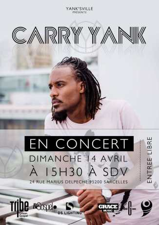 Carry Yank en concert @ Eglise Source de Vie