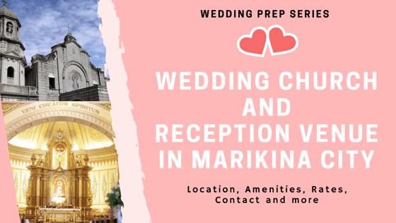 wedding church and venue in marikina city