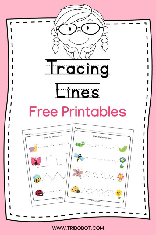 Printable: Tracing Lines Worksheets