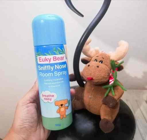 The Euky Bear Sniffly Nose Room Spray