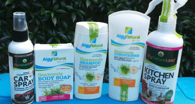 Seaweeds Rediscovered with My Naturals PH Products