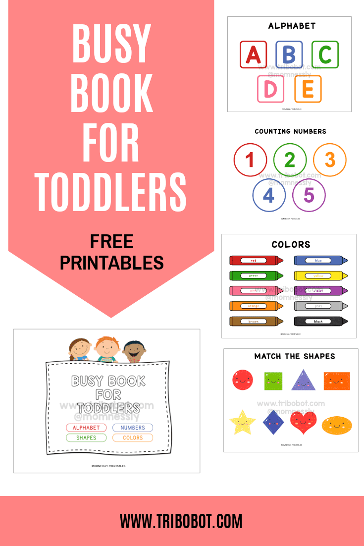 Busy Book For Toddlers - Https://tribobot.com