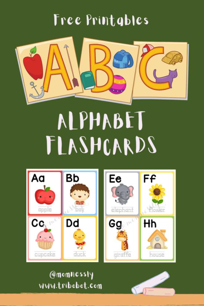 Free Printable: Alphabet Flashcards
