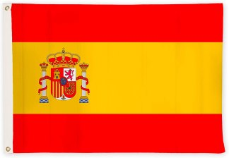 Bandera de España 90 x 150 resistente a la intemperie