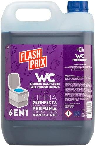Liquido azul para inodoros quimicos - inodoro portatil WC