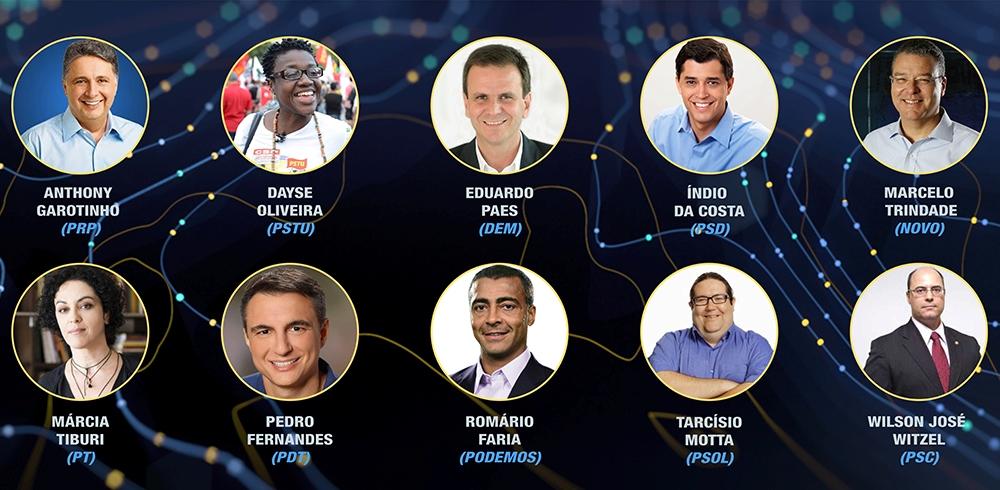 Ibope registra pesquisa para governador do Rio