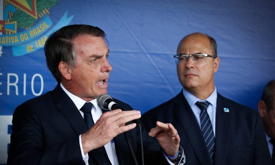 Bolsonaro:'Minha vida virou um inferno depois da eleição de Witzel'