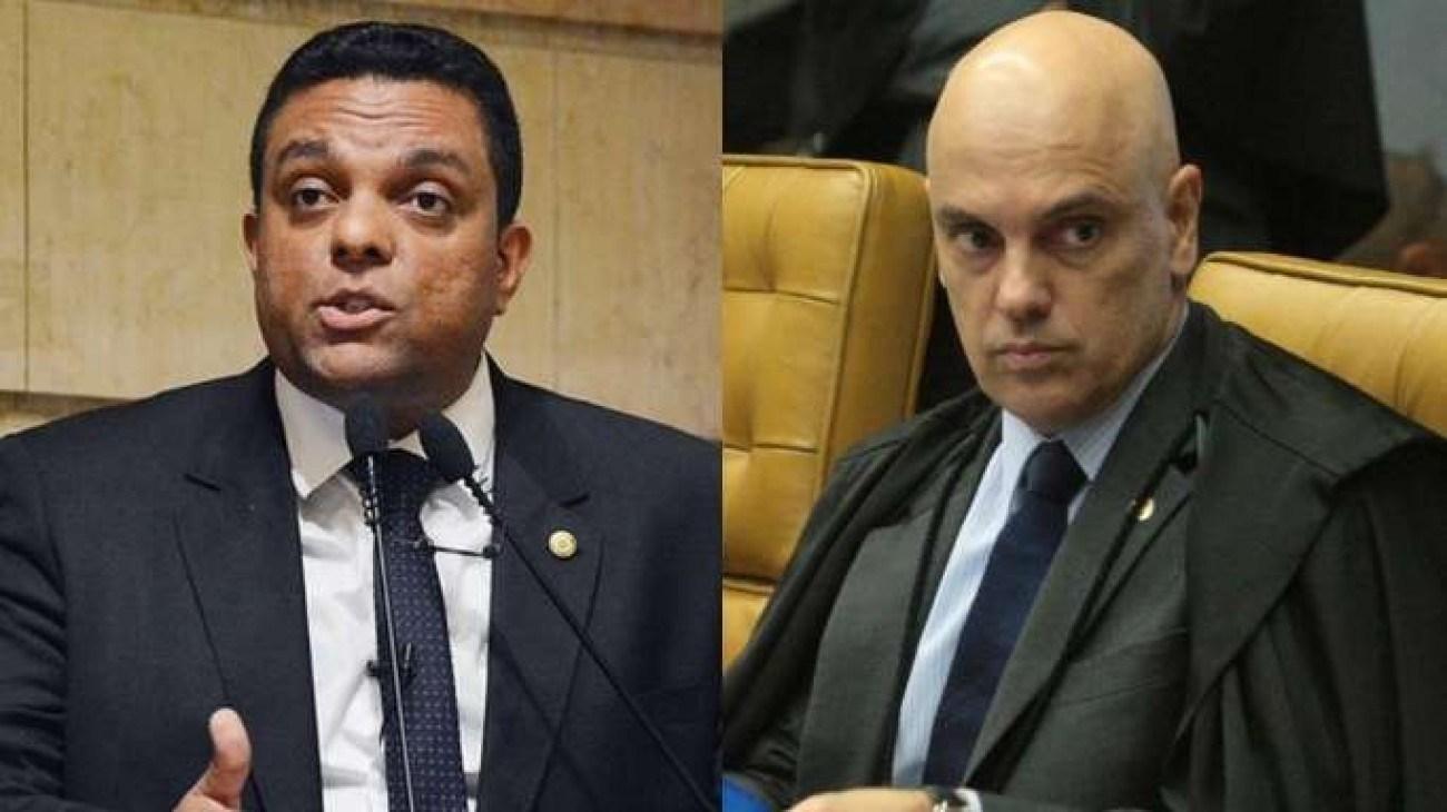 Juiz manda deputado apagar ofensas contra Alexandre de Moraes das redes sociais