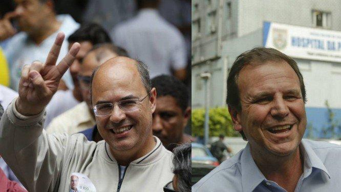 Pesquisa 2º turno/TV Record: Wilson Witzel tem 64% dos votos válidos e Eduardo Paes 36%