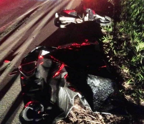 Mulher morre em acidente próximo à curva de Grussaí, em SJB