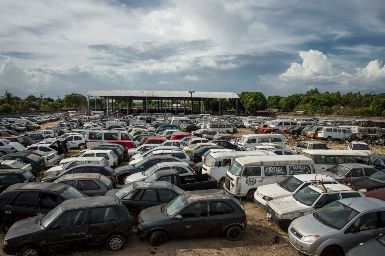 Detran.RJ leiloa, na segunda-feira, mais de 6,5 mil veículos