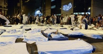 Sobe para 14 o número de mortos em incêndio no Hospital Badim