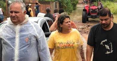 Prefeitura de SFI mobilizada para auxiliar famílias atingidas pela chuva